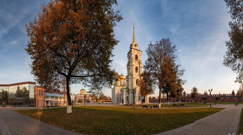 Бабье лето в Тульском Кремле