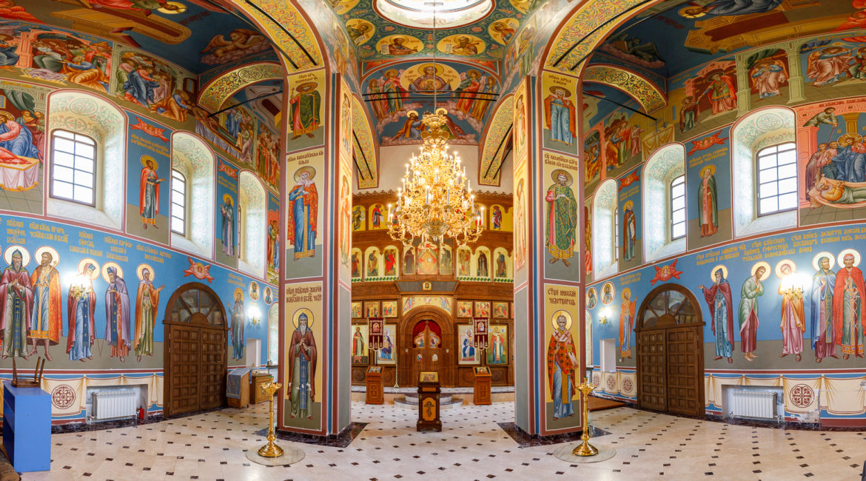 Византийские фрески Жабыни