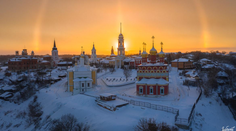Самые красивые храмы Тульского региона